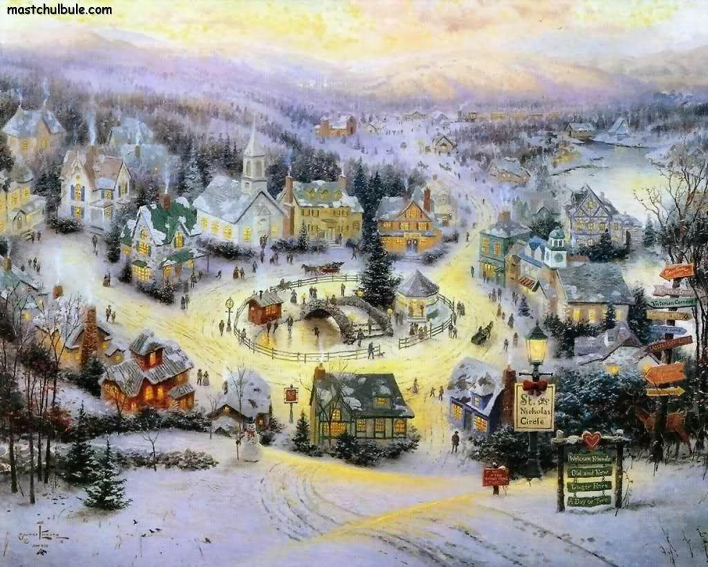 Thomas Kinkade | Art: THOMAS KINKADE | Pinterest | Paintings, Artist ...