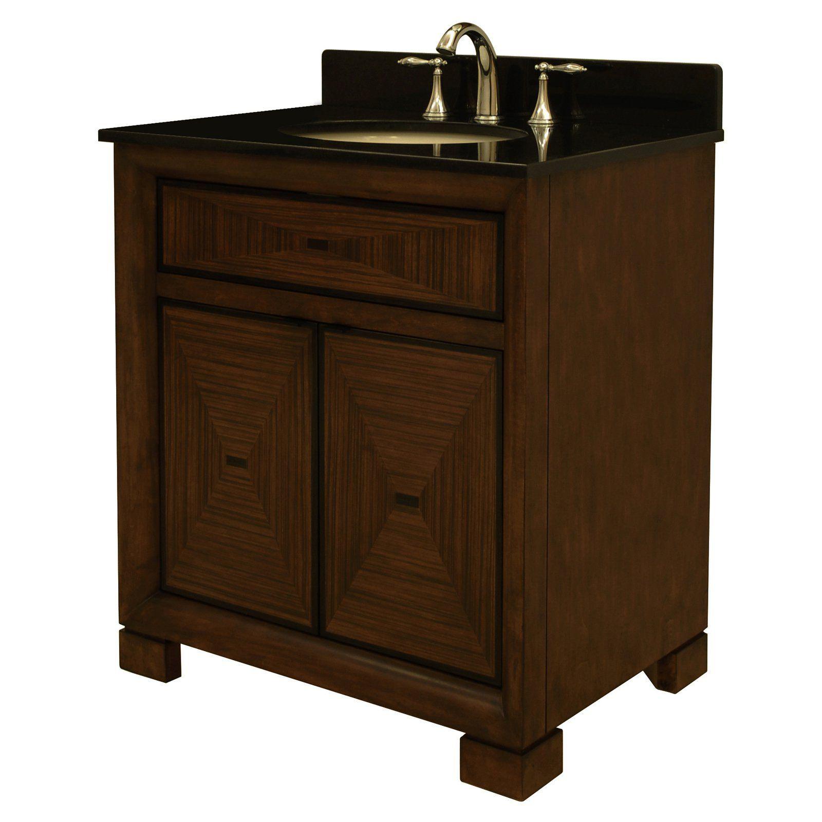 Sagehill Designs TP3021 Tempo 30 In. Single Bathroom Vanity   From  Hayneedle.com