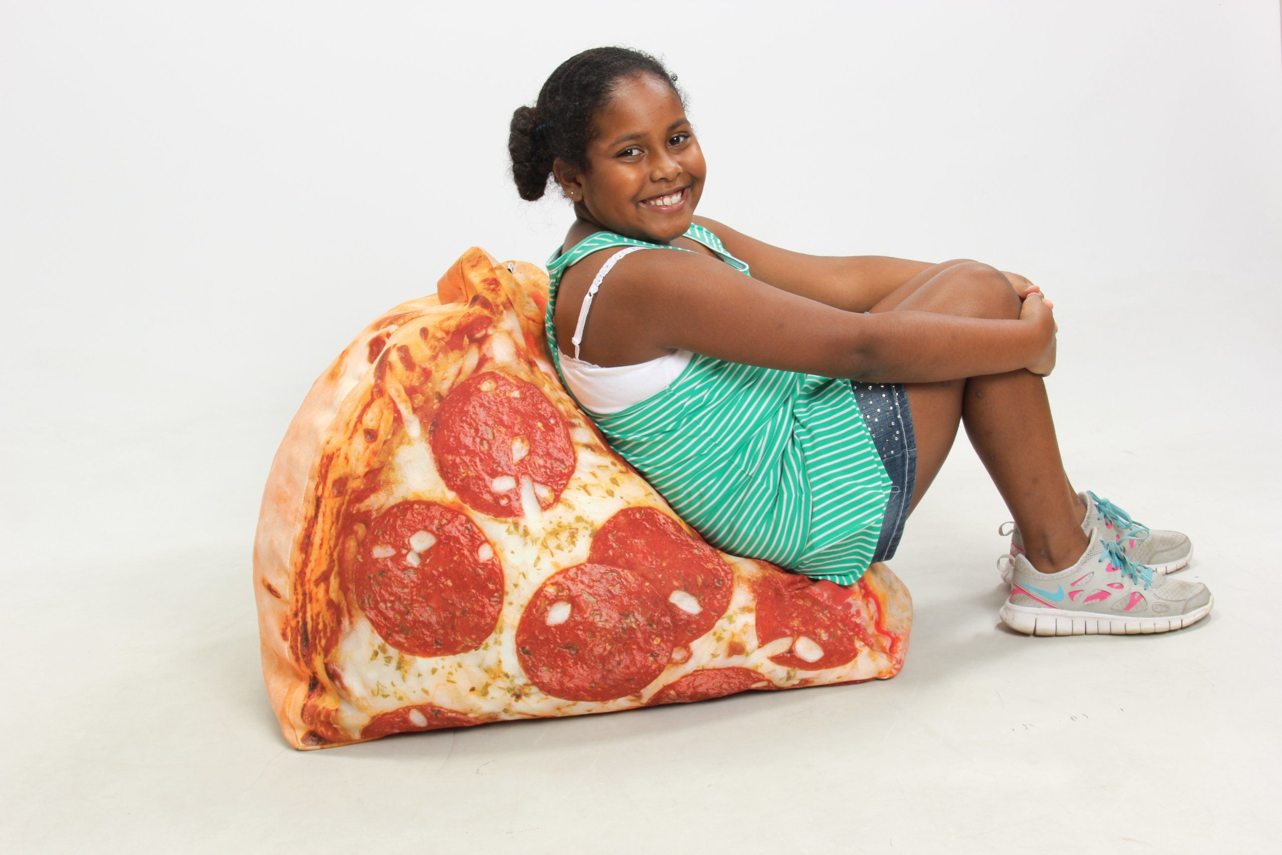 Awesome Amazon Com Wow Works Pizza Junior Inflatable Chair Home Machost Co Dining Chair Design Ideas Machostcouk