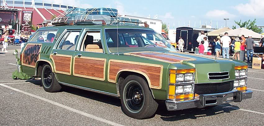 Family truckster, Oh, those Griswolds! Movie, TV cars