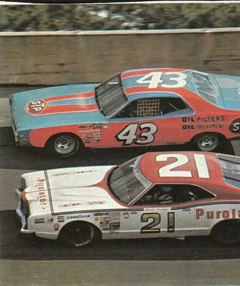 44cd51649a0 Richard Petty   David Pearson - probably the greatest rivalry in the sport