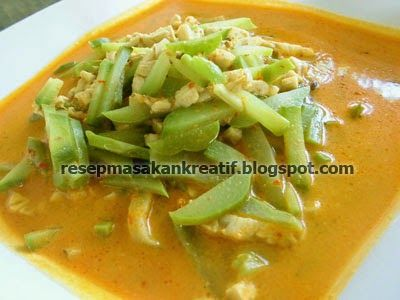 Resep Sayur Labu Siam Tempe Kuah Santan Resep Masakan Indonesia Masakan Indonesia Resep Masakan