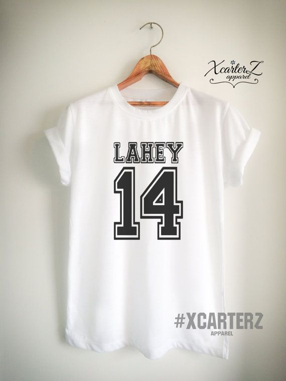 Lahey Shirt LAHEY 14 Print on Front or Back Side by XcarterZ