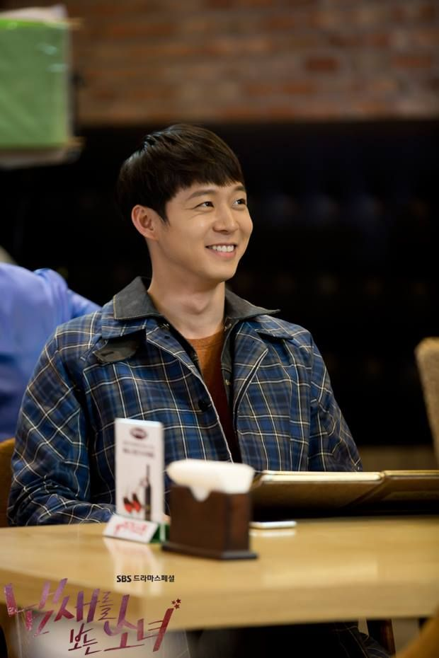 "New Still of Yoochun in ""The Girl Who Can See Smells"""