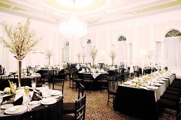 One Couples Elegant Ballroom Wedding In Asbury Park New Jersey
