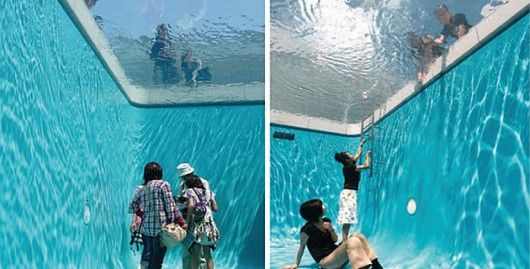 """""""Swimming Pool"""" by Leandro Erlich."""