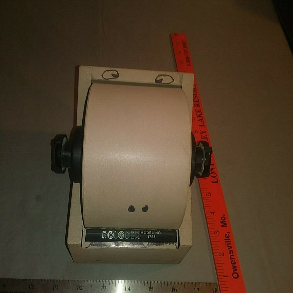 Rolodex Business Card Holder Model No 1753 Ebay Rolodex Card Files Metal Frame