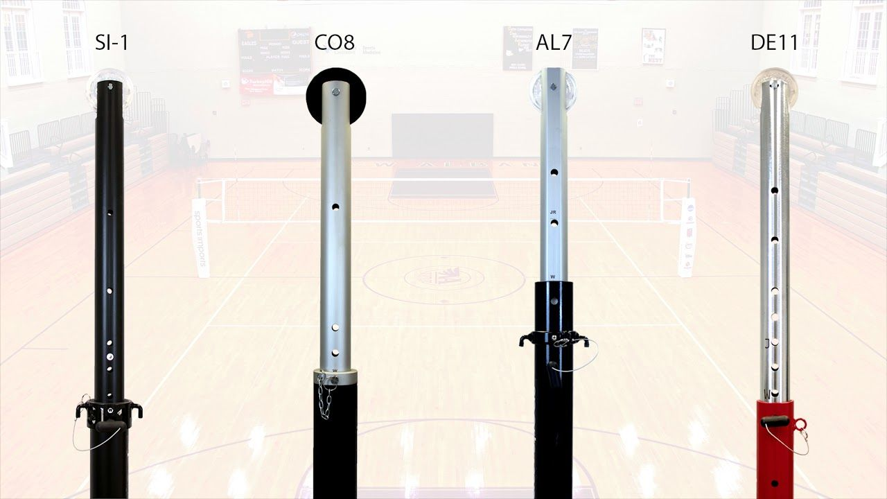 How To Adjust Volleyball Net Height To Achieve Proper Net Height Sports Imports Volleyball Equipment Volleyball Net Height Coaching Volleyball