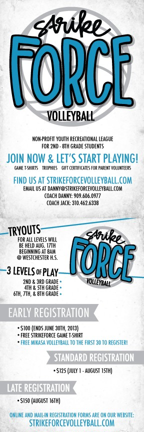 Strike Force Volleyball Volleyball Youth Volleyball Illustrator Inspiration