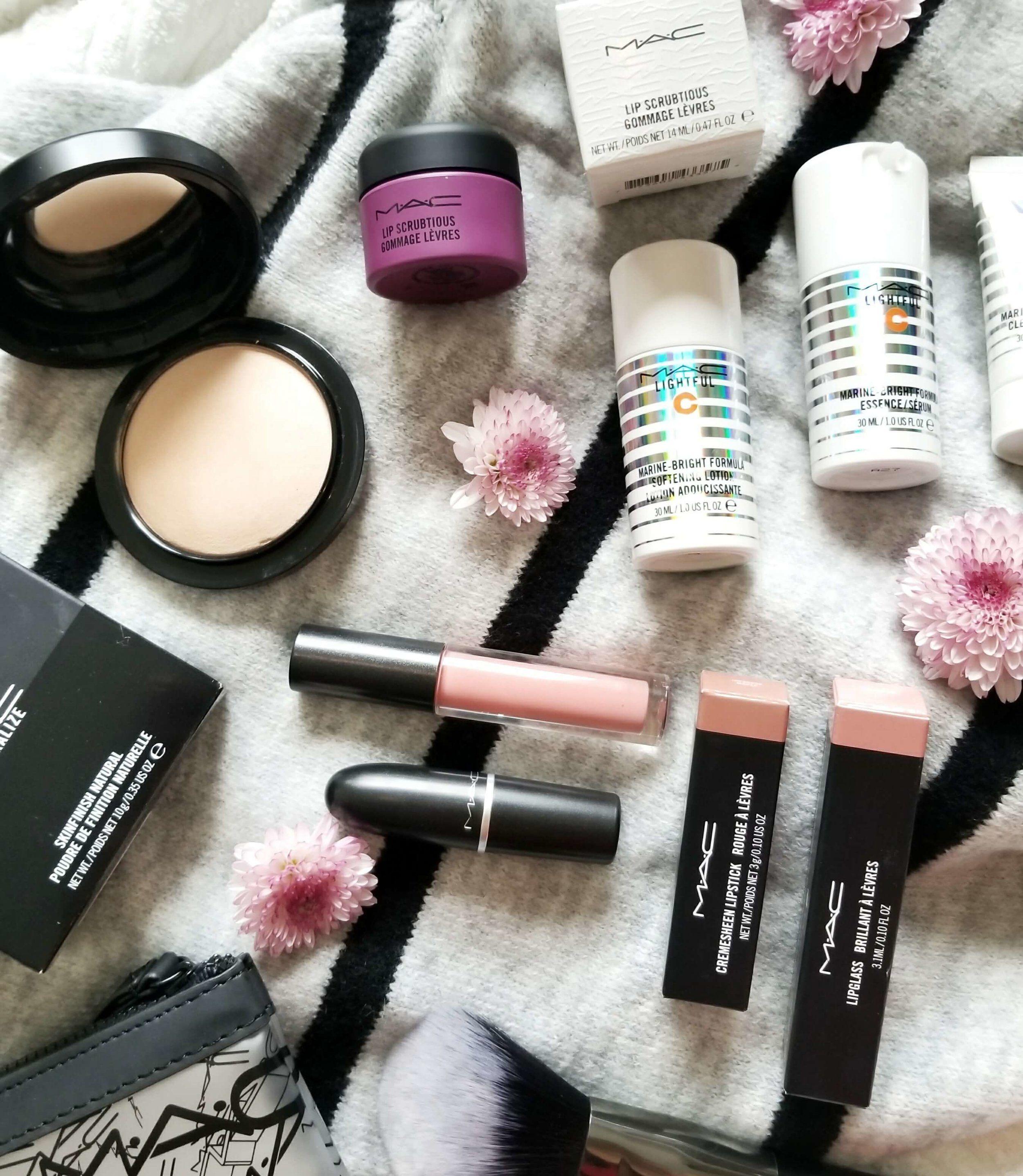 Mac Cosmetics Haul Cosméticos Loción Exuberante