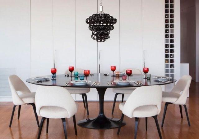 Salle à manger contemporaine - 111 idées de design réussi Room - lustre pour salle a manger