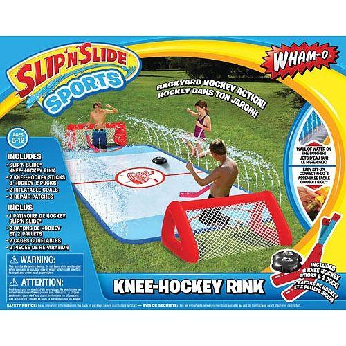 Best Slip 'N Slide ever! | I Want | Water Games, Hockey ...