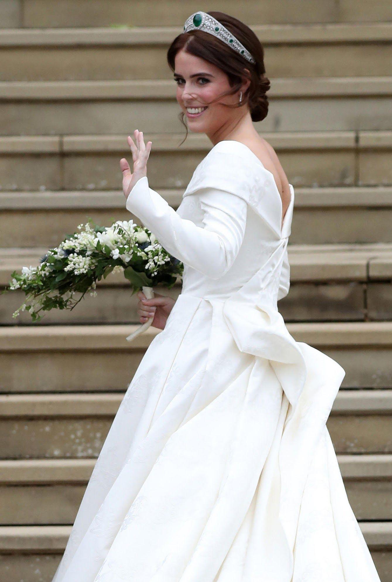 11 Hochzeitskleid Von Prinzessin Eugenie Prinzessin Eugenie Brautkleid Prinzessin Brautmode