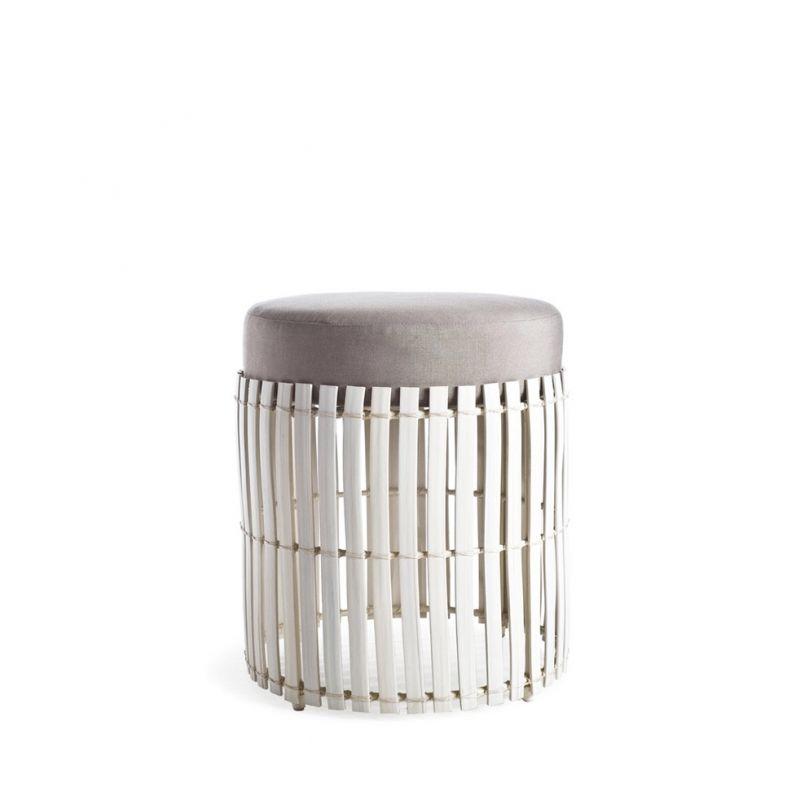 Loungehocker Lolah (whitewash) von Kenneth Cobonpue Kenneth - designer gartenmobel kenneth cobonpue