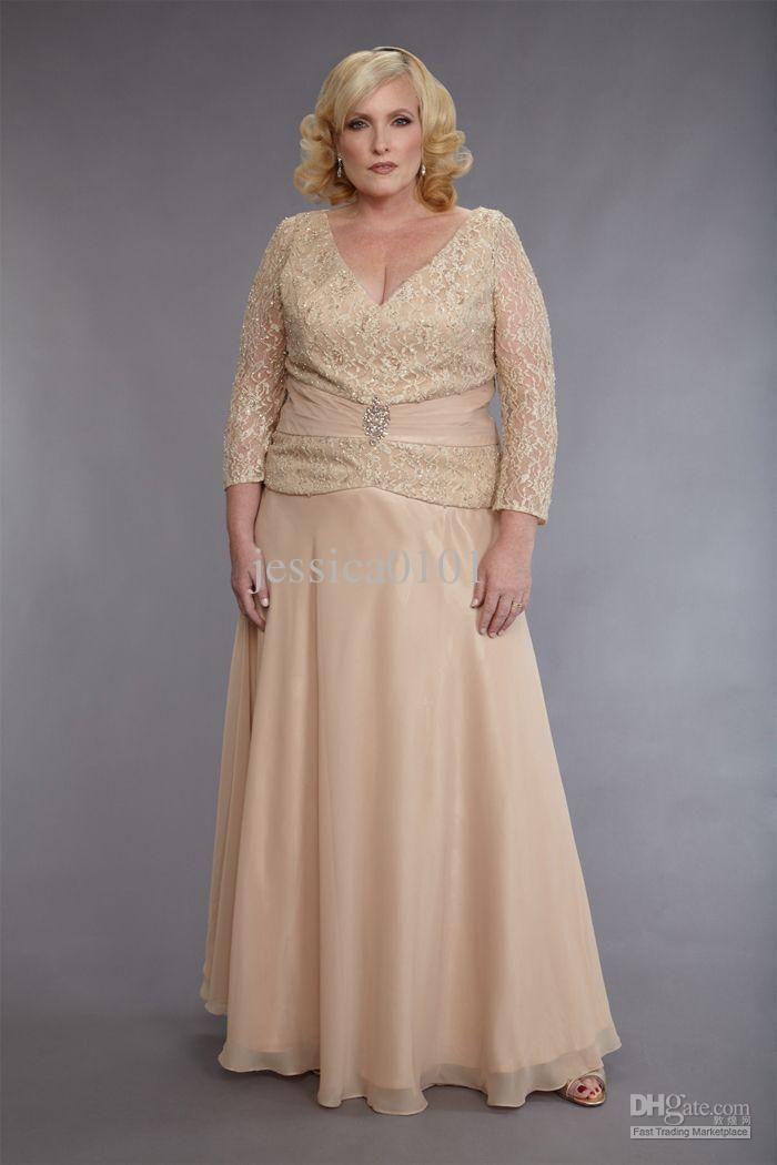 Vestidos mama de la novia tallas grandes