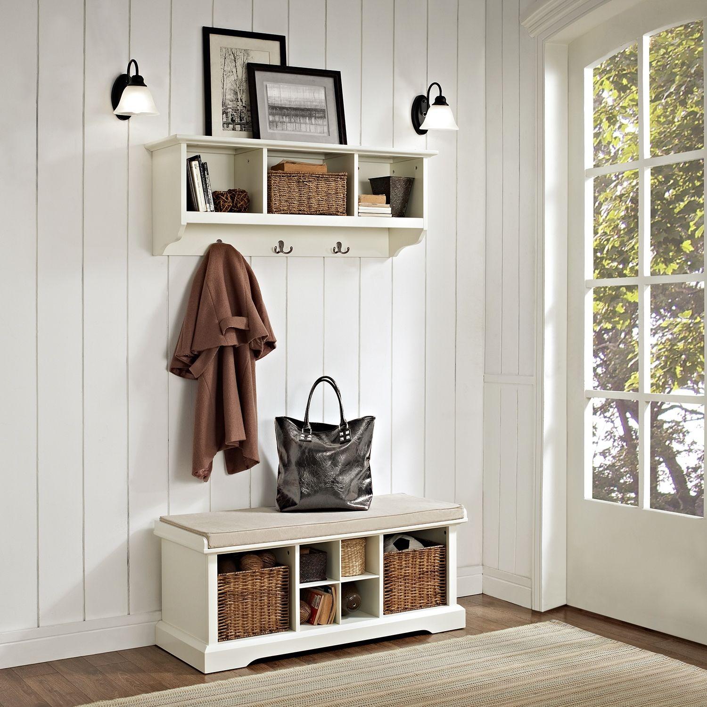 Levi 2 Piece Entryway Set Mudroom Decor Minimalist Entryway Entryway Bench Storage