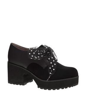 best sneakers c02d8 6c84e Shellys London - Vraspir - Scarpe stringate con plateau | My ...