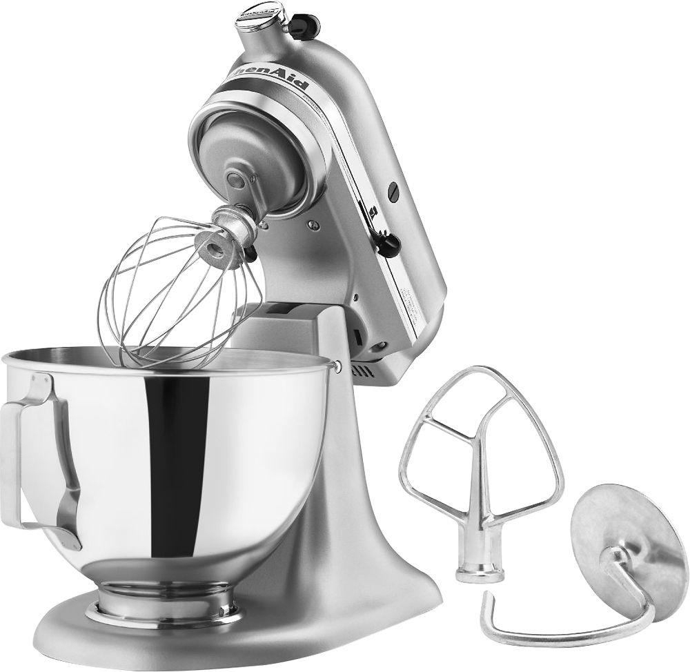 Kitchenaid Ksm85pbsm Tilt Head Stand Mixer Silver