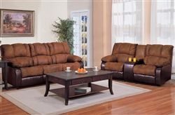Awesome Ronan 2 Piece Reclining Sofa Loveseat Set In Two Tone Cover Short Links Chair Design For Home Short Linksinfo