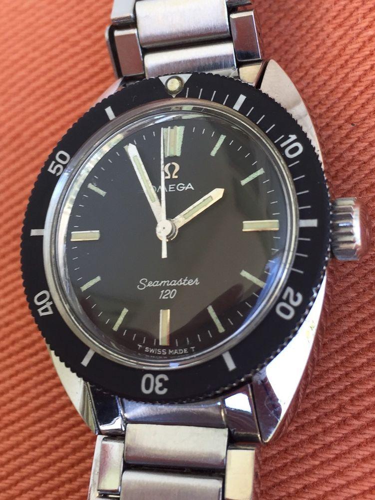 Omega Seamaster Anni 70.Orologio Omega Seamaster 120 Carica Manuale Vintage Watch