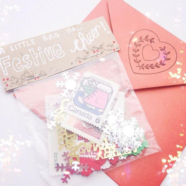 Postales Viajeras Navideñas Milowcostblog Arte De Correo Regalos Carta Creativas