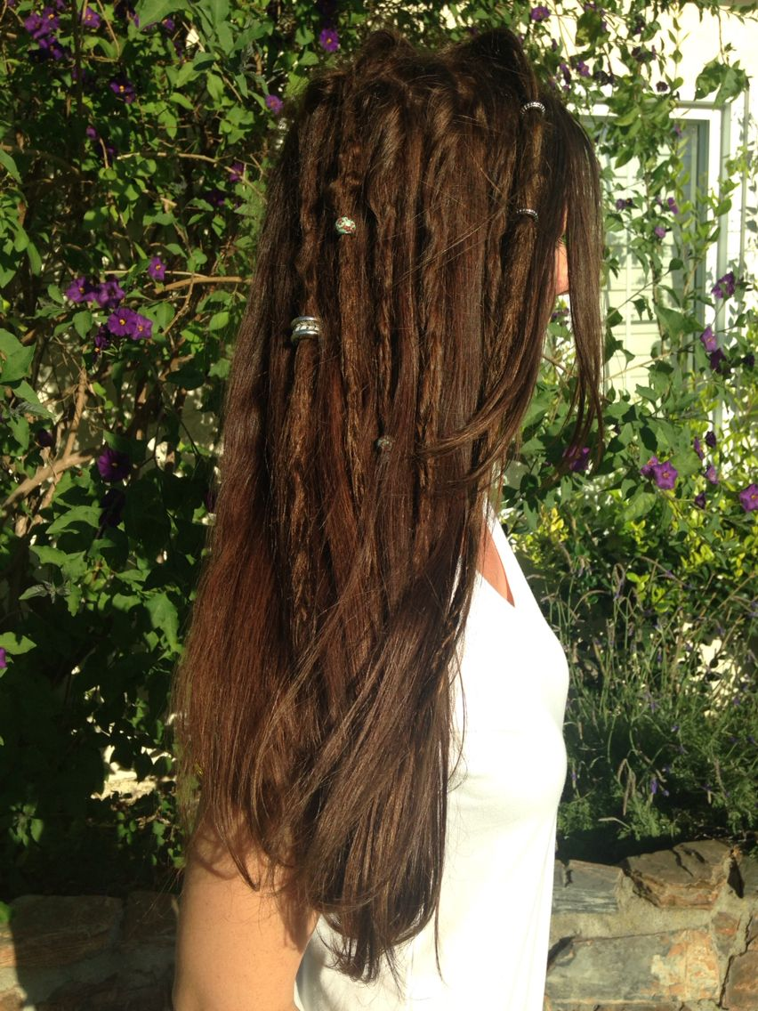 partial dreads - sprinkle of