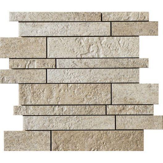 Mosaique Sol Et Mur Vestige Creme Leroy Merlin Sol Et Mur Sol Mur