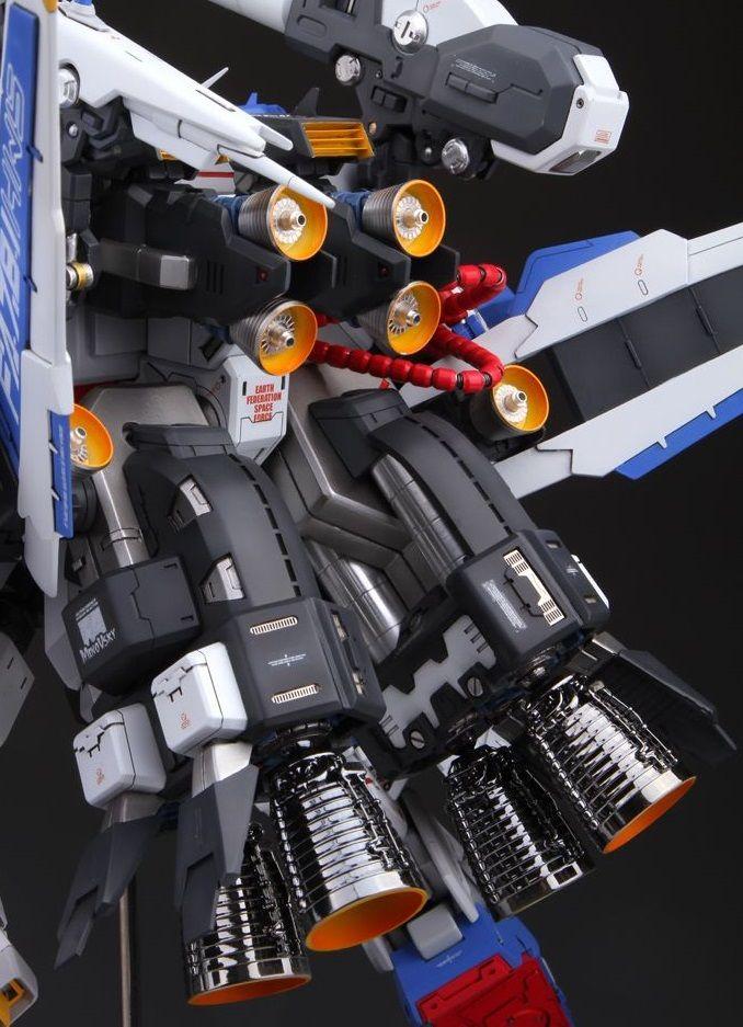 GS FA-78-1 Gundam HWS: Improved Work w/remote Control by 模灵 Full PHOTO REVIEW, Info | GUNJAP