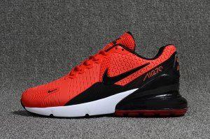 86760c3b50c0e Mens Nike Air Max Flair 270 KPU Sneakers October Red White Black ...
