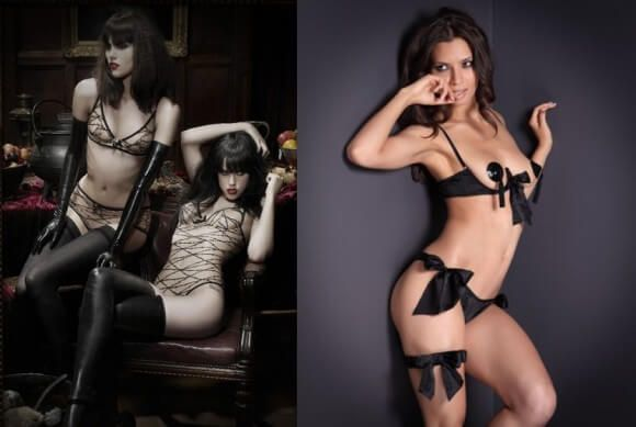 Agent Provocateur s  Maschina  and  Marilyn  sets. Photos by Agent  Provocateur. 92a7323db