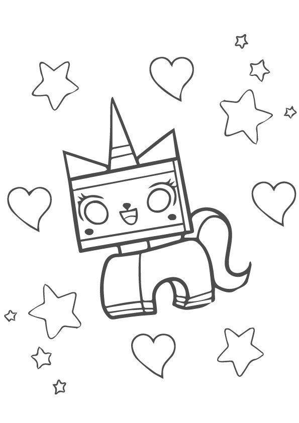 25 Wonderful Lego Movie Coloring Pages For Toddlers Lego Movie Coloring Pages Coloring Pages Unikitty