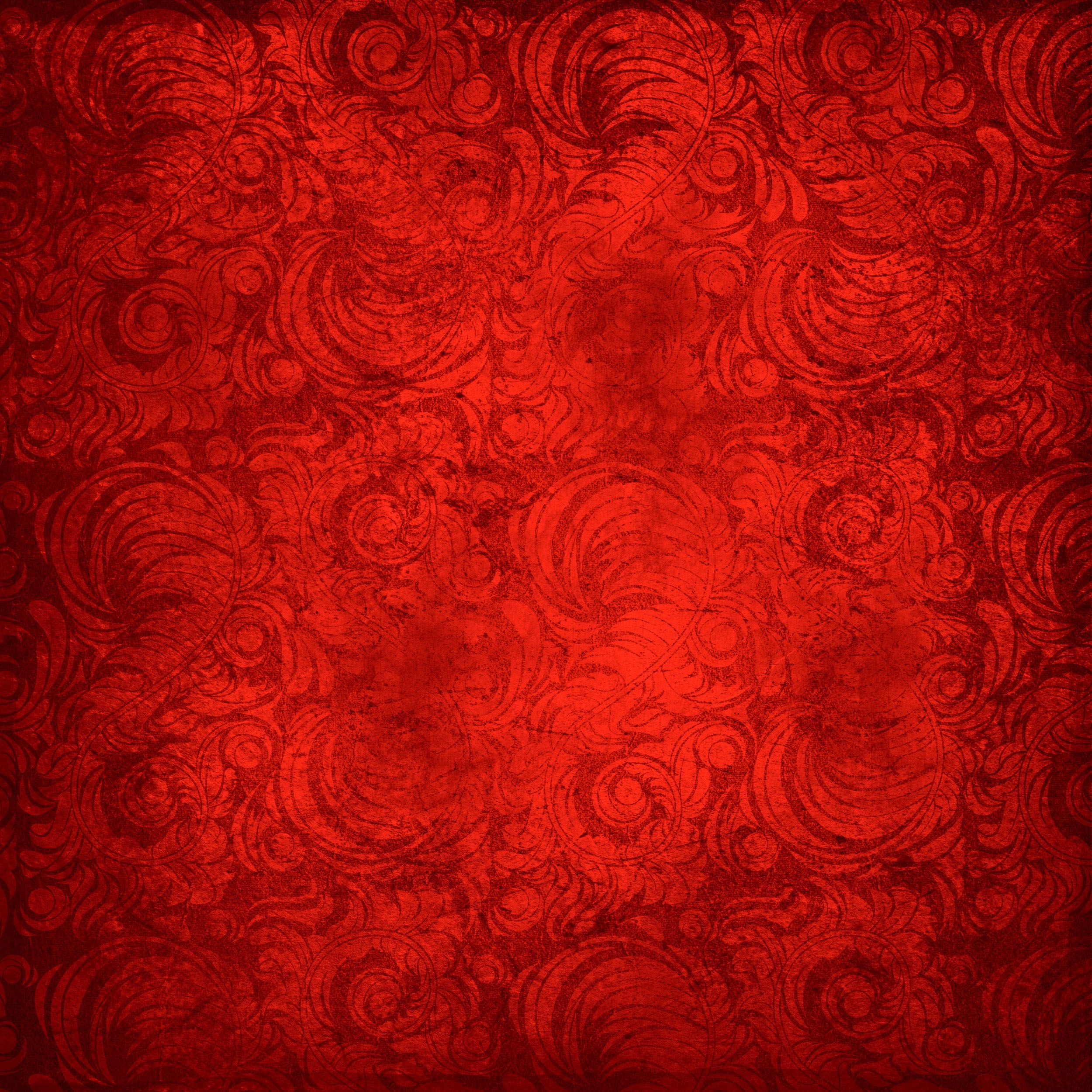Красно-золотая открытка