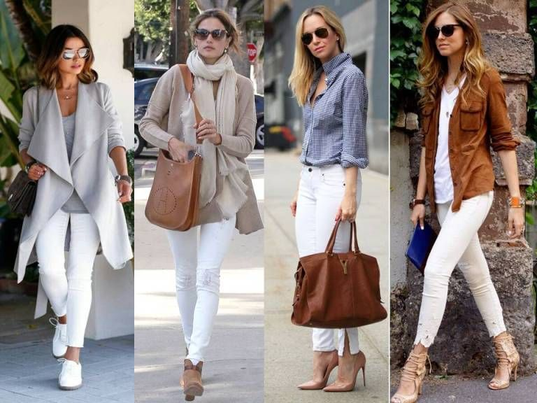 how to style the white pants in winter , White pants styling ideas  http//www.justtrendygirls.com/white,pants,styling,ideas/