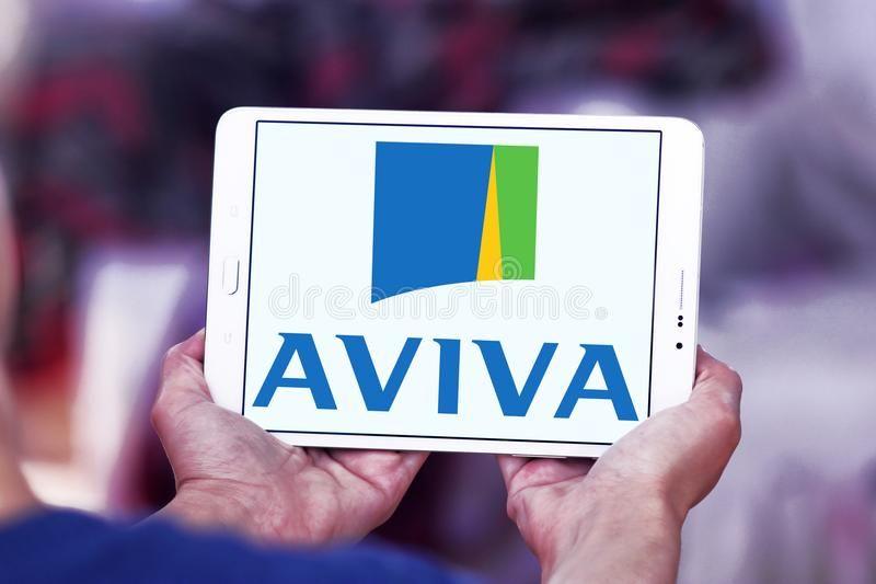 Aviva Insurance Company Logo Logo Of Aviva Insurance Company On