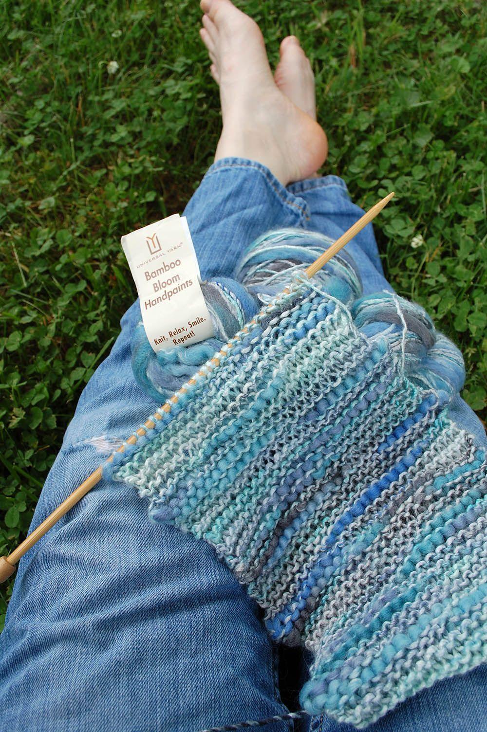 bf98a341a Sunday Swatch – Bamboo Bloom Handpaints Garter Stitch