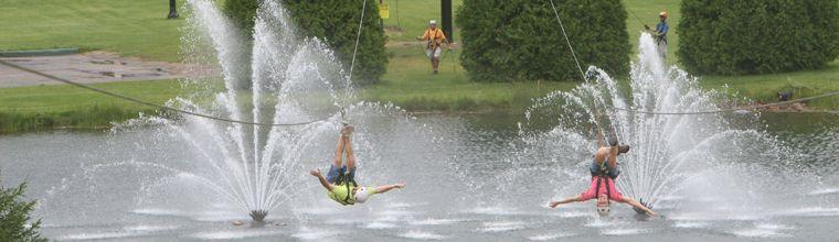 Ziplining At Boyne Mi Zipline Adventure Family Adventure Travel Fall Vacations
