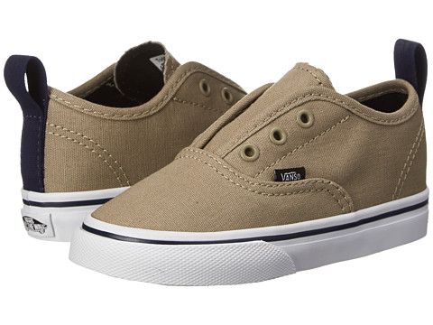 Vans Kids Authentic V (Toddler) (Pop) Seneca Rock Eclipse - Zappos ... 49721c07e