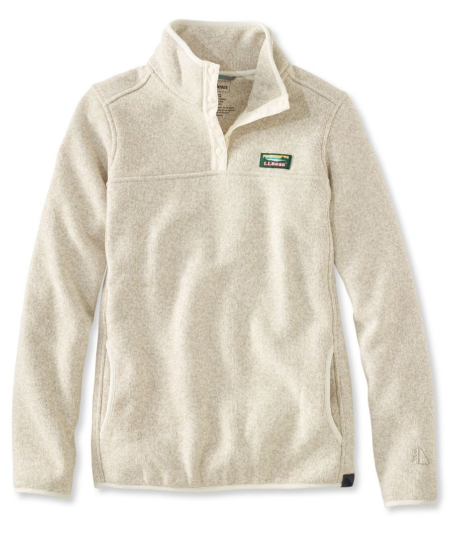 L.L.Bean Sweater Fleece Pullover | wish list | E | Pinterest ...