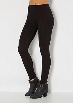 Essential Black Soft Brushed Legging