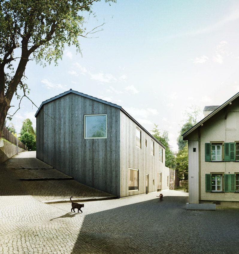Sollberger Bögli Architekten AG Tagesstätte Lorraine