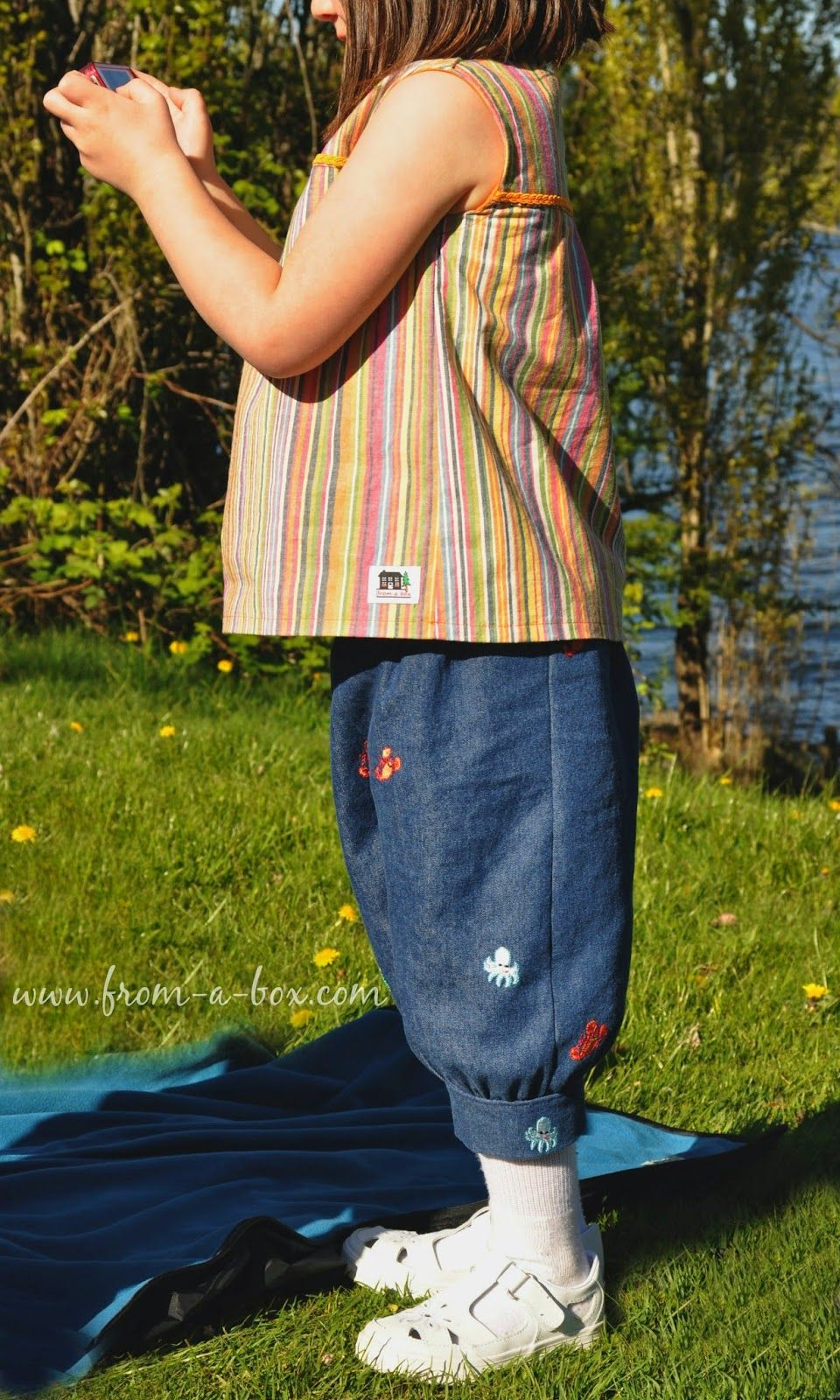 Perfect Picnic Outfit - Sewing Serendipity by Sewlosophy Patterns ...
