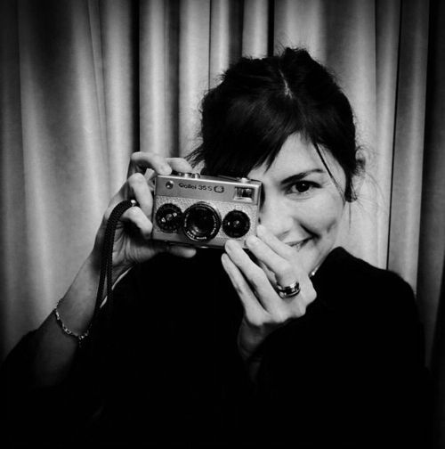 Audrey Tautou // and a very nice rollei 35