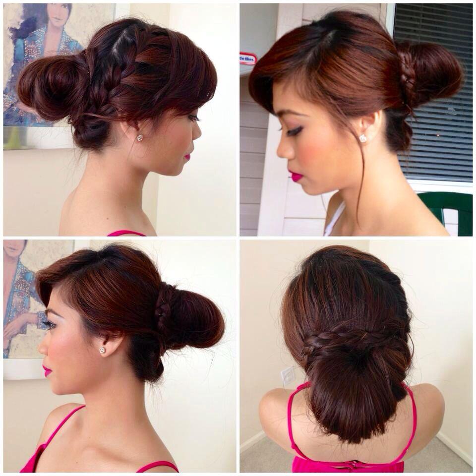 Simple braid hairstyle hairstyles pinterest simple braids and