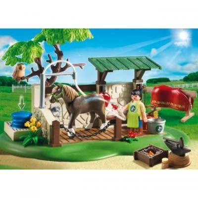 Playmobil Hufschmied bei der Arbeit Playmobil Pinterest Pferde - playmobil badezimmer 4285