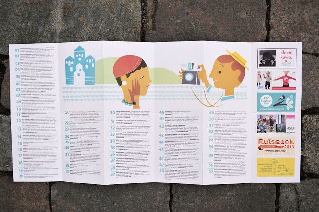 Turku Treasure Map 2013 is out now! Turku Treasure Map is produced by Polkka Jam. Design and illustrations Kristiina Haapalainen & Sami Vähä-Aho.