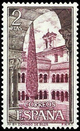 Monasterio Santo Domingo Silos (Burgos) - 1973