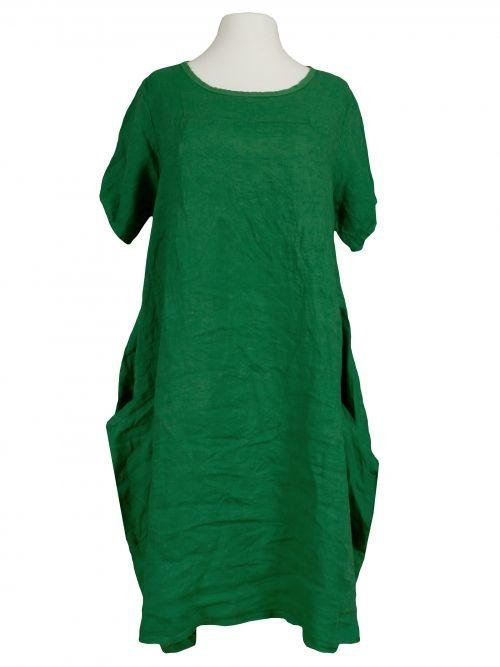 Damen Leinenkleid A-Form, grün von Spaziodonna bei www ...