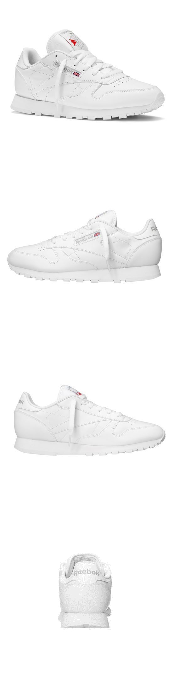 6026ed93794 Unisex Shoes 155202  Reebok Classic Leather (Gs) Youth Grade School White  Grey 71