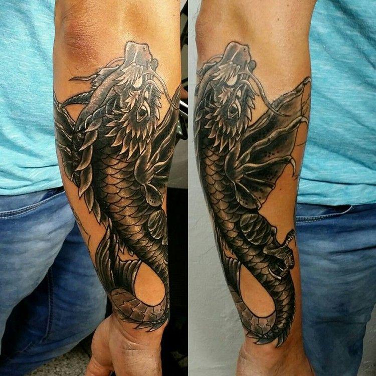 Tatouage Dragon Avant Bras Tuer Auf