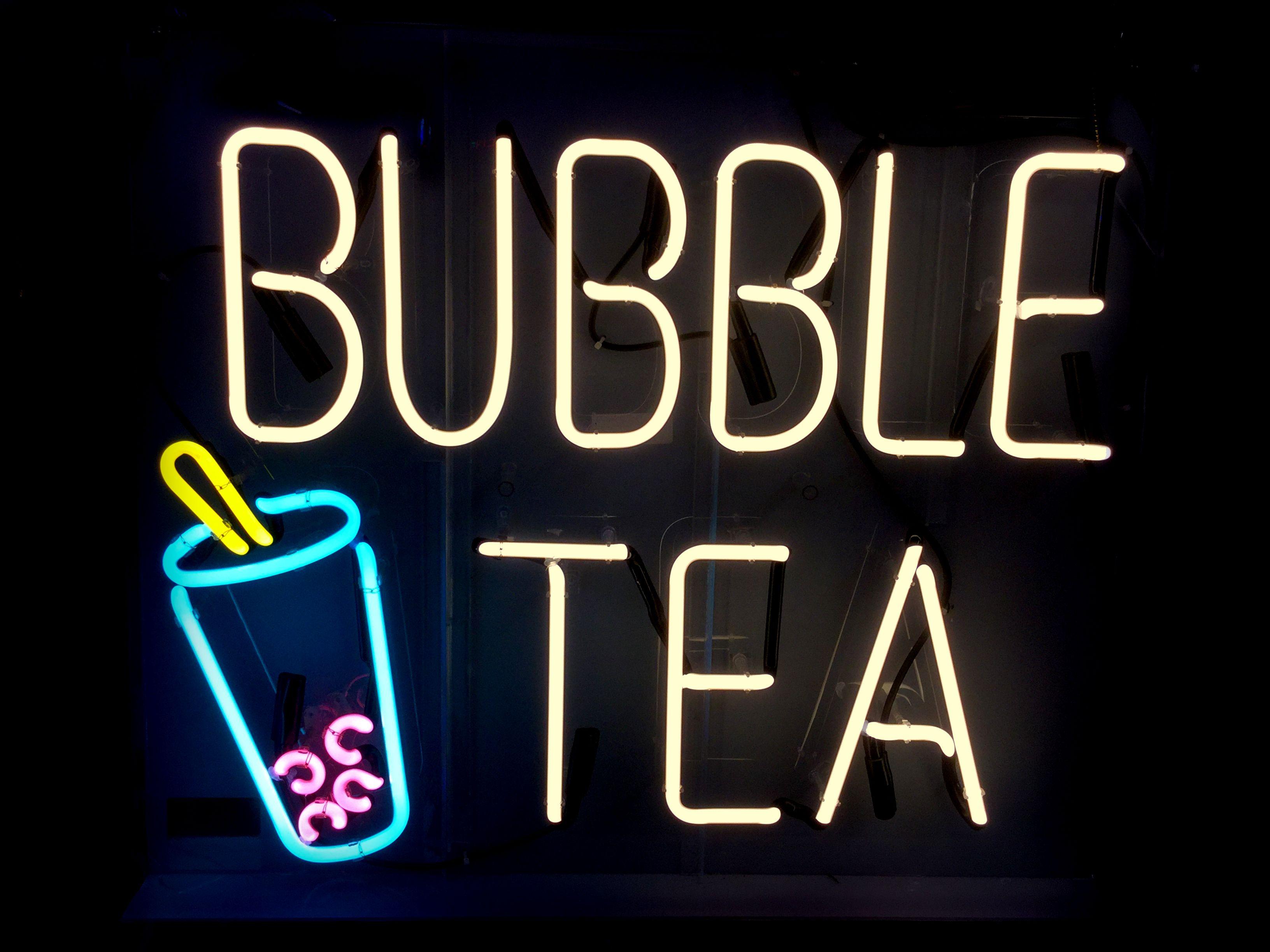 A Custom Neon Sign Made By Www Jantecneon Com Bubbletea Bobatea